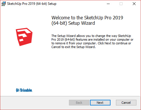 Windows set up wizard next