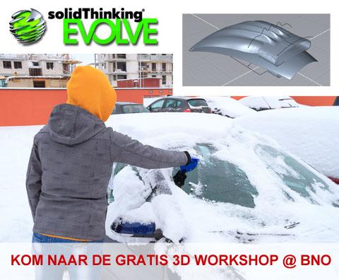 Kom naar een gratis 3D workshop bij BNO Amsterdam